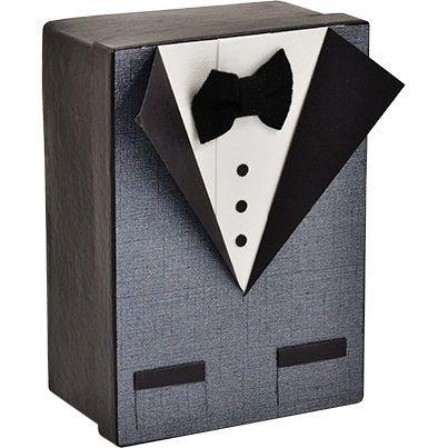 Make this super cool Tuxedo Gift Box and fill with your Dad's favourite things!! <3 http://riotstores.com.au/project/index/view/id/196