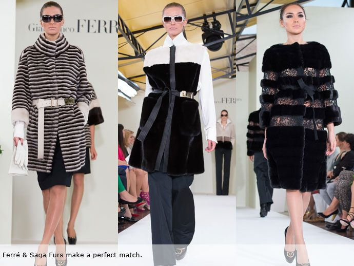Saga Furs and Gianfranco Ferré captivated Muscovites - Saga Furs