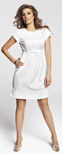Платья для беPerla платье. Цвет: белый. Нарядное платье для беременных - купить по доступной цене в интернет-магазине happymam.ru