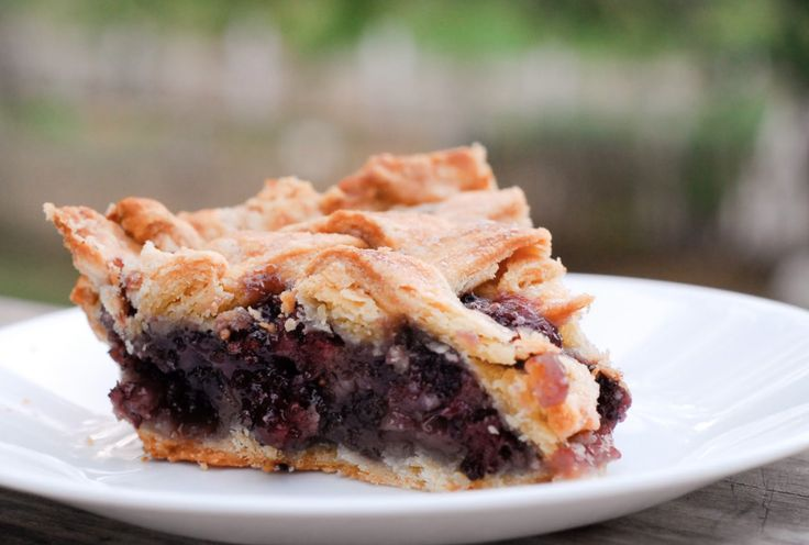 Mulberry Pie (in case the girls actually manage to scrape together enough berries from our tiny tree)