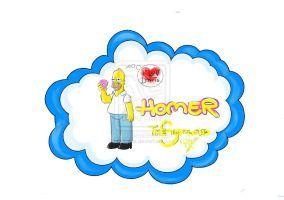 Homer - THE SIMPSON by eREIina