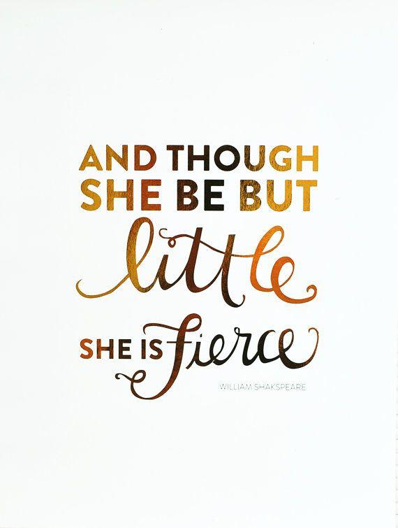 She May Be Little Fierce