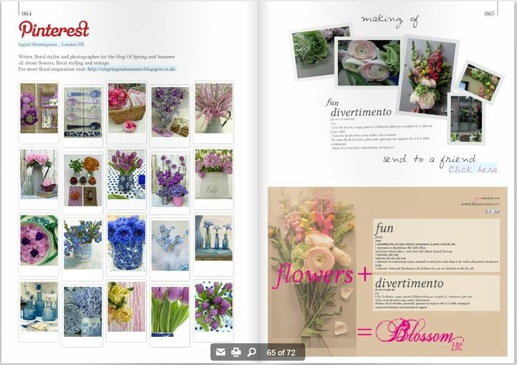 Blossom zine pag. 64.65 pinterest by ingrid henningsson http://blossomzine.eu/