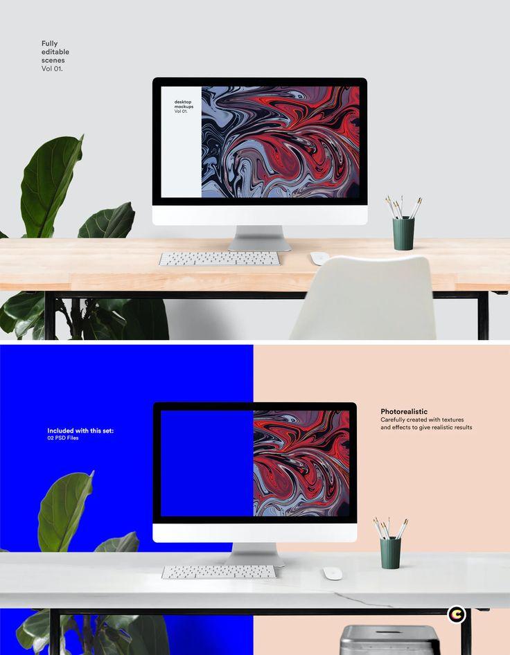 Desktop Mockup Psd Mockup Mockup Psd Mockup Design