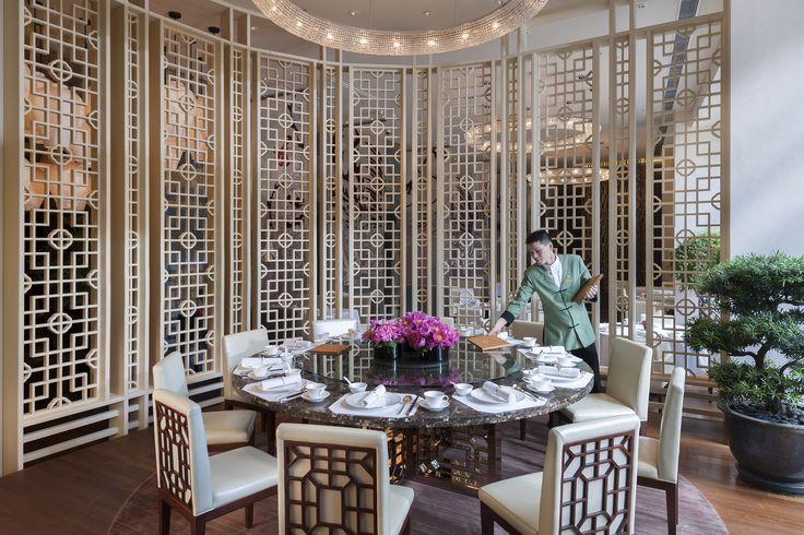 Yong Yi Ting at Mandarin Oriental Pudong, Shanghai   por Mandarin Oriental Hotel Group