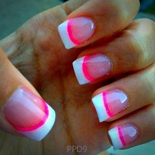 nail designs pink light Nail Designs Ideas 2013