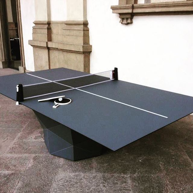 WOOD-SKIN's Ping pong table at iconic re-naisssance design! Come and play…