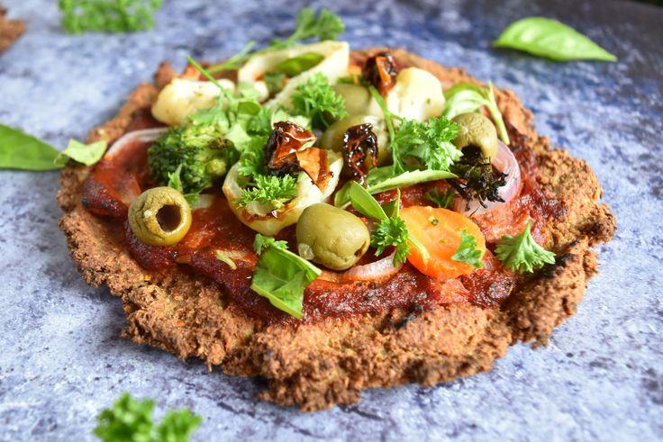 IR-barát, gyors gluténmentes pizza élesztő, tej és tojás nélkül | www.thepuur.com #pizza