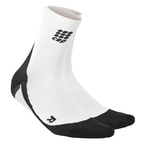 Perfect for the athlete looking for added support and improved shoe fit, with targeted compression in the foot and ankle area provide support while reducing the instance of swelling. #ReadySetGoFitness #CEP #Compression #Socks #Recovery #Clothing #Sportswear