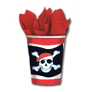 Pirate Party 9oz. Cups (8/pkg)