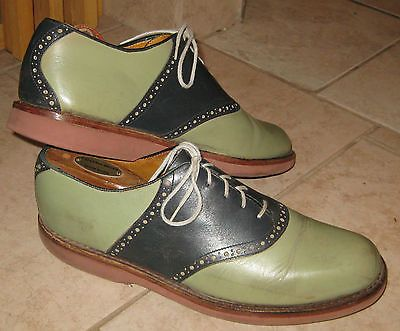 Mens Cole Haan Country Leather Saddle Shoes sz 10 D
