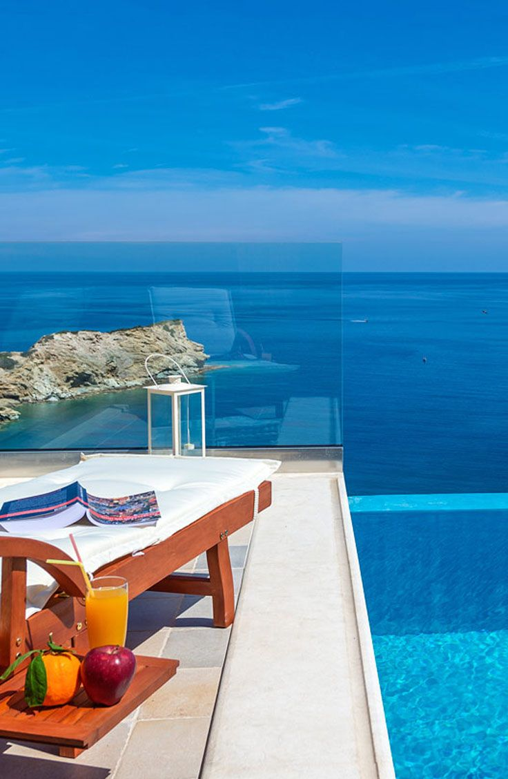 Villa Lygaria in Agia Pelagia, Heraklion, Crete. Book now a villa in beautiful Crete! Visit our site: TheHotel.gr