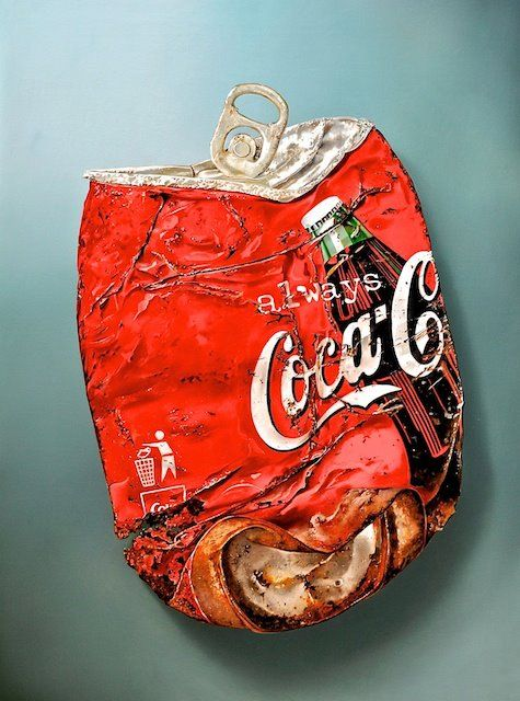 Colablikje (Cola Can) from 2010 120 x 90 cm - oil/canvas