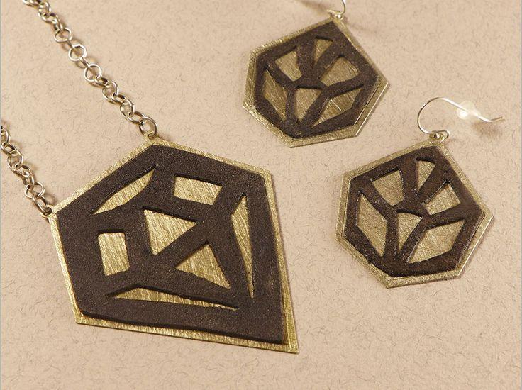"""""""Diamond"""" Jewelry Set"""
