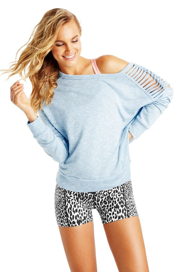 Famous L/Slv Sweat | New In | Categories | Lorna Jane Site