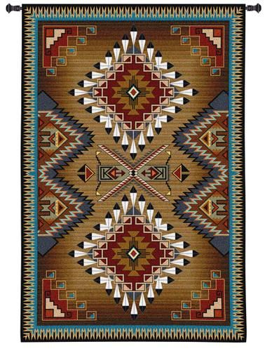 Brazos Southwestern Wall Hanging 53 Quot X 76 Quot Decorating