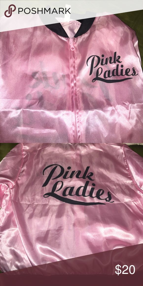 Pink Ladies costume jacket Worn once. Pink ladies costume jacket. Make me an offer! All pricing inquires must be made through the offer button! Jackets & Coats