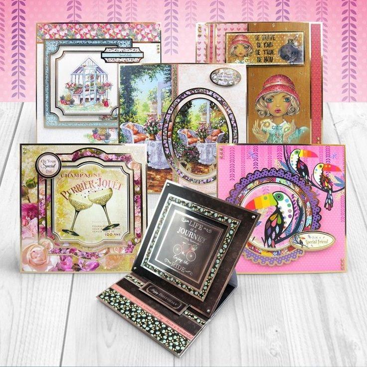 HUNKYDORY- Luxury CARD MAKING Kit For WONDERFUL WOMEN Mega BIRTHDAYS ( 3 for 1 )