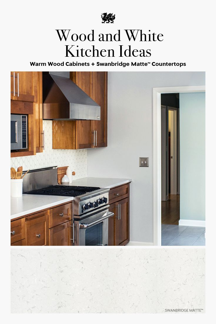Refine Define Wood Cabinets With White Countertops White Countertops Medium Wood Kitchen Cabinets Wood Cabinets