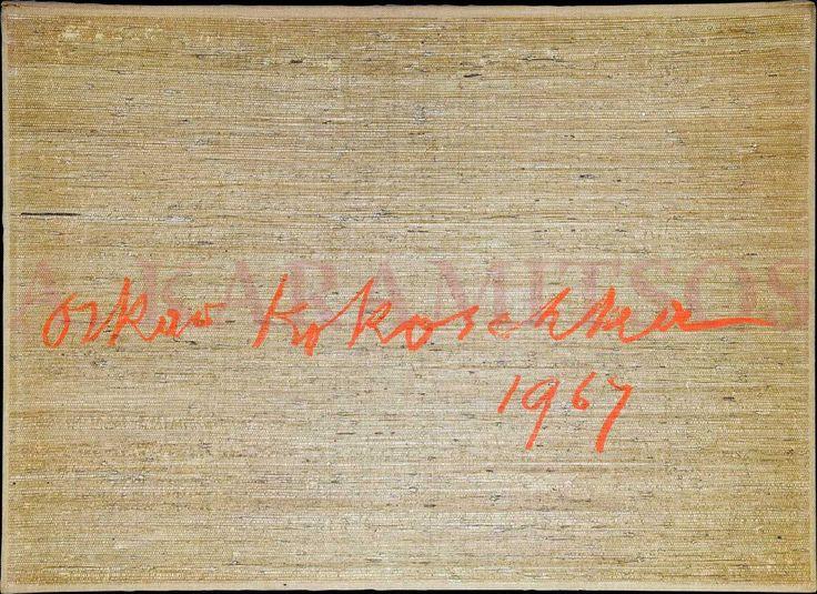 """KOKOSCHKA Oskar, """"Le Bal Masque"""", Zurich: E. Gloor/Chez Wolfensberger, 1967. First Edition."""