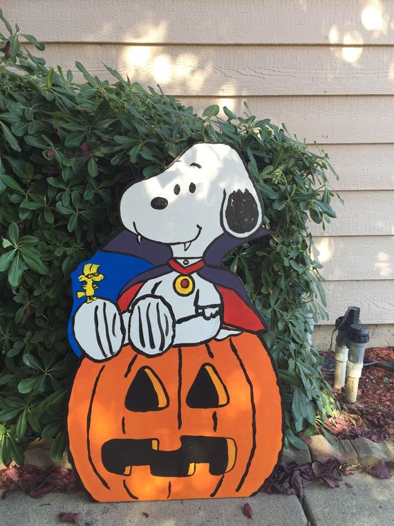 Snoopy Halloween Snoopy Woodstock Snoopy Cutout by CreativChick