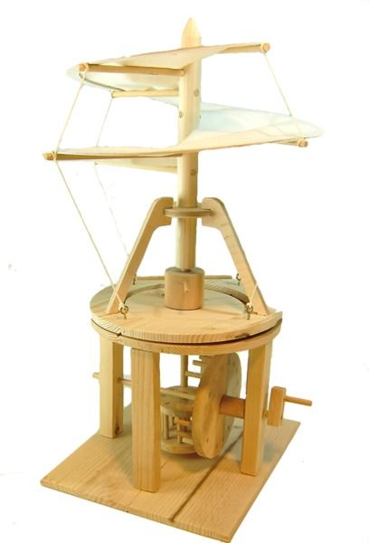 Pathfinders Leonardo da Vinci Helicopter | Kids Gift Ideas | Krinkle Gifts