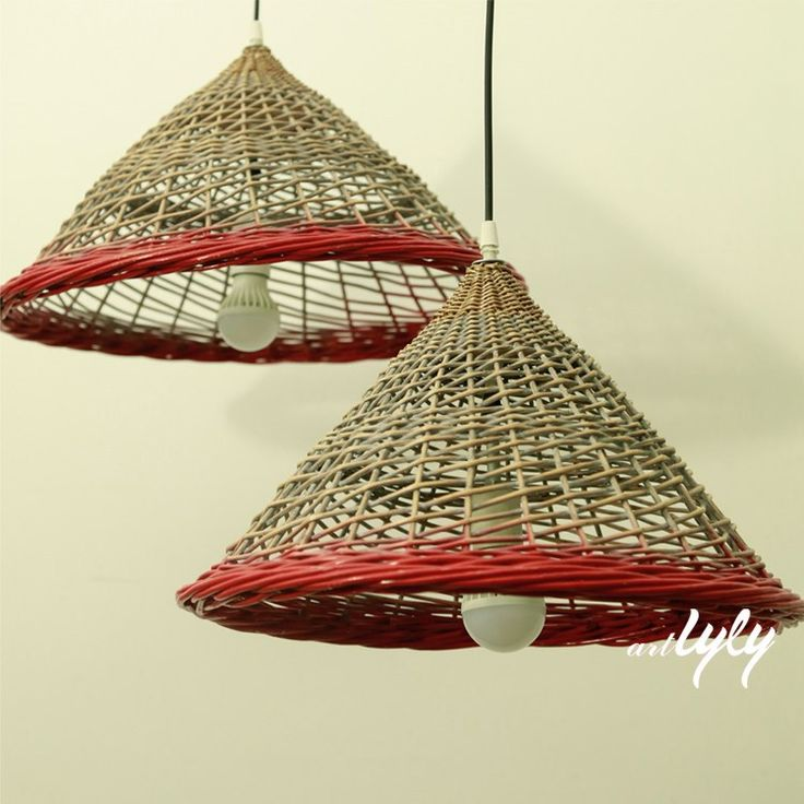 2015 best sell customized willow lamp cover wholsale