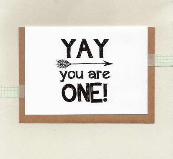 YAY you are ONE or choose another age . kids age by ThePaisleyFive