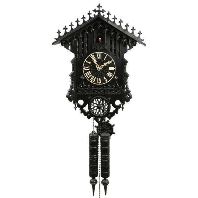 original black forest cuckoo clock gothic shop - Black Forest Cuckoo Clocks