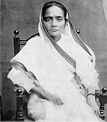 Kasturba Mohandas Gandhi (11 April 1869 – 22 February 1944) was a political activist fighting for civil rights and Indian independence from the British. She was also the wife of Mohandas Karamchand Gandhi.