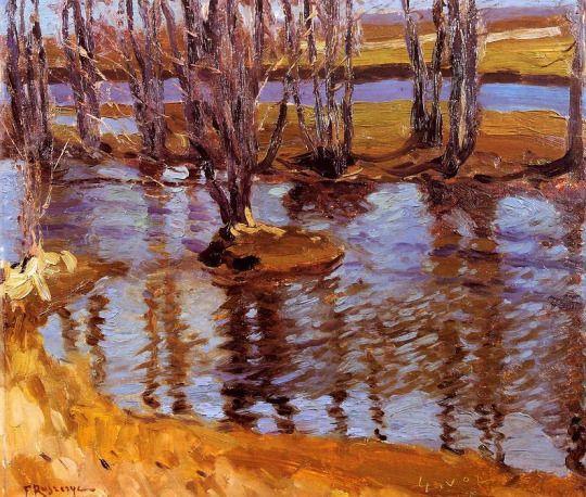 Krajobraz Landscape, 1902 Ferdynand RUSZCZYC
