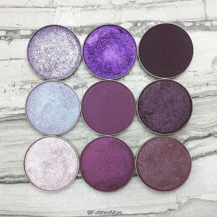 Makeup Geek purple eyeshadows | Futilities and More