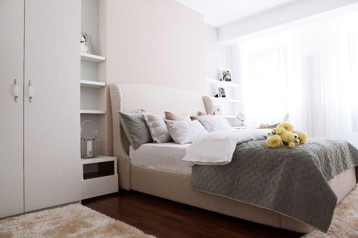 Dormitoarele din Docenților Residence au fost mobilate cu gândul la confortul și eleganța de acasă.