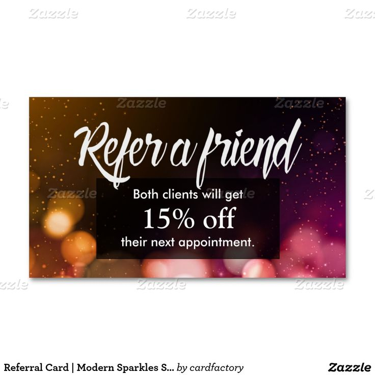 Pin by Girly Business Cards on Girly Referral Business Cards ...