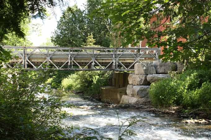 Bridge over Shaw's Creek, Alton Mill, Ontario