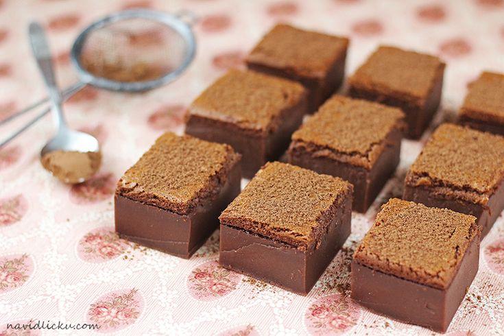 Na vidličku: Magic cake: vrstvená čokoládová buchta