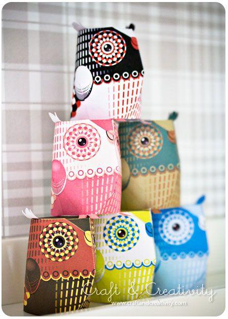 Paper owl by 3EyedBear