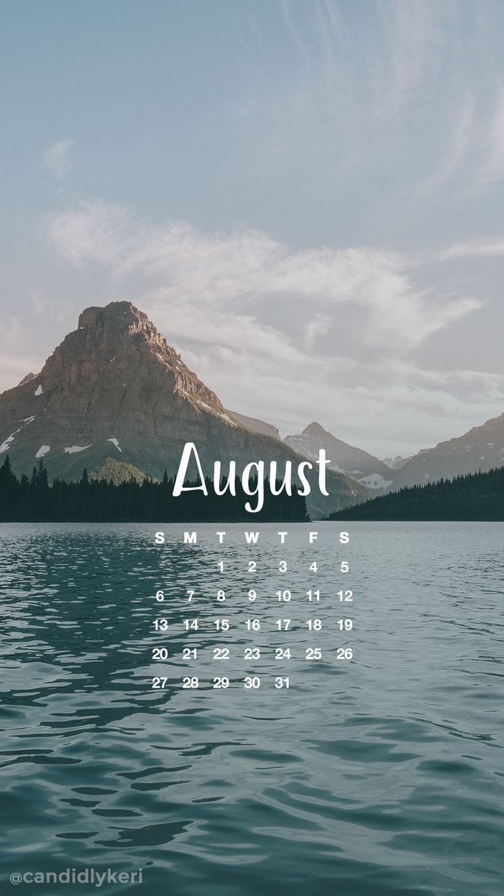 Beach mountains august calendar 2017 wallpaper you can download for free on the blog! For any device; mobile, desktop, iphone, android!