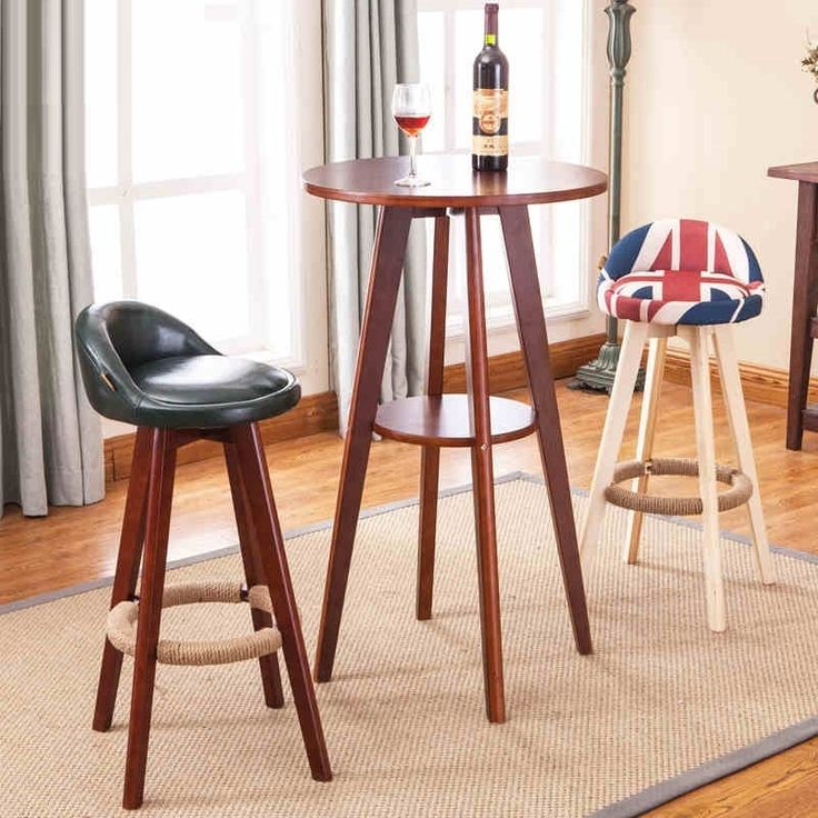 (179.44$)  Buy here  - Mediterranean style bar chairs Office counter wood stool retail and wholesale free shipping