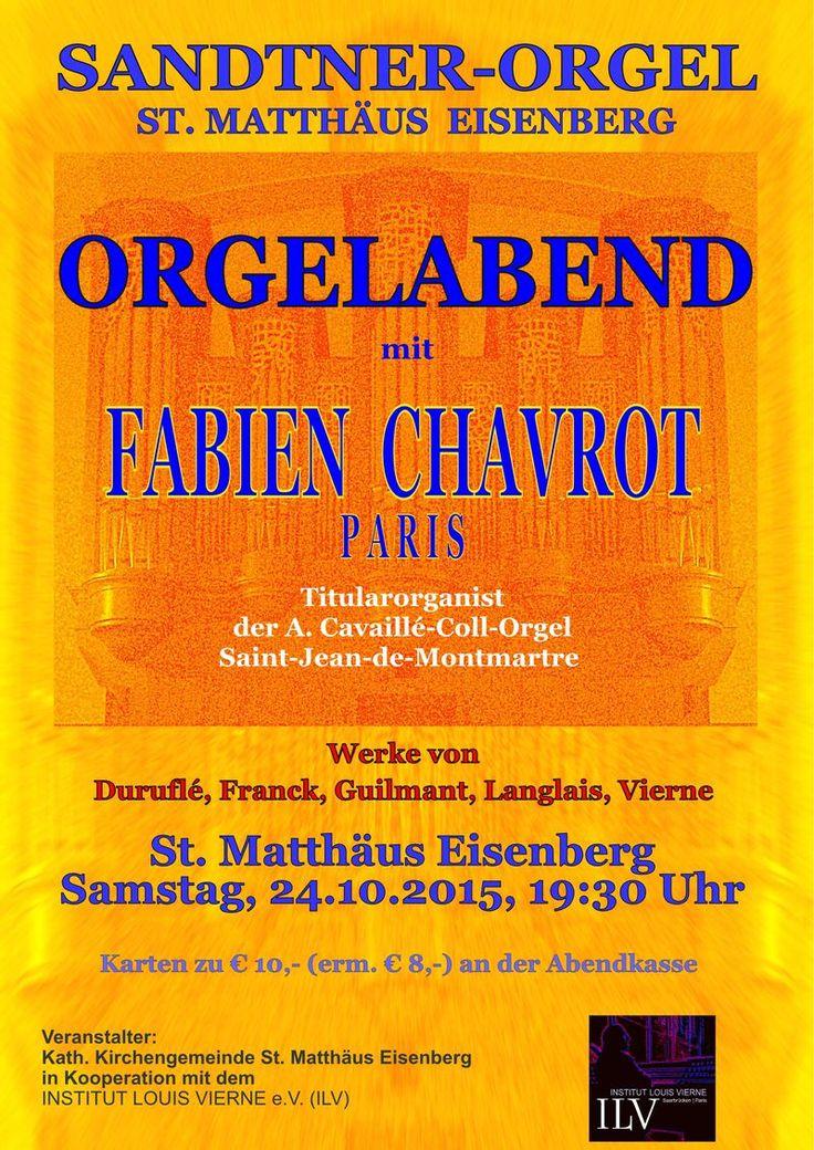 Das Portal der Königin - Orgelkonzert in St. Matthäus Eisenberg
