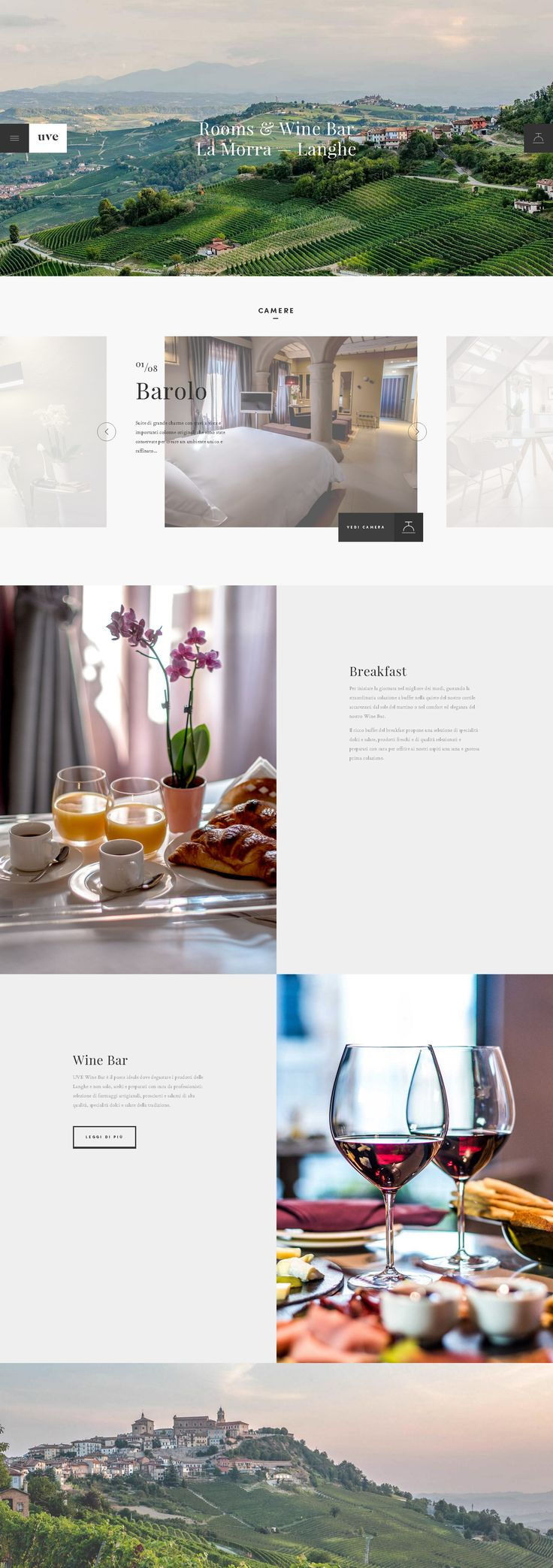 UVE Rooms & Wine bar #AQuest #WebDesign #Website
