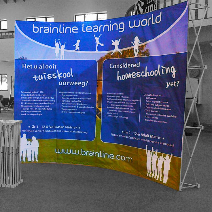 Instant Banner Walls are versatile with large surface areas for eye-catching branding & visuals. Ideal for trade shows, presentations, press briefings etc.