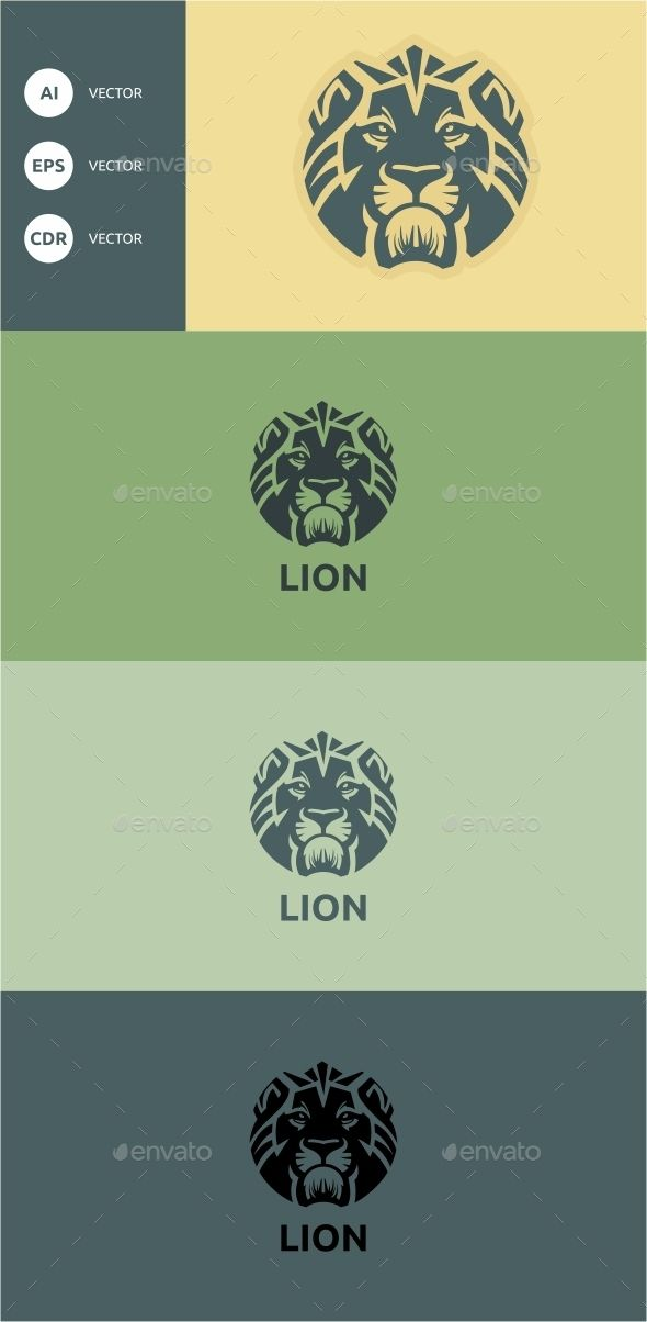Lion - Animals Logo Templates