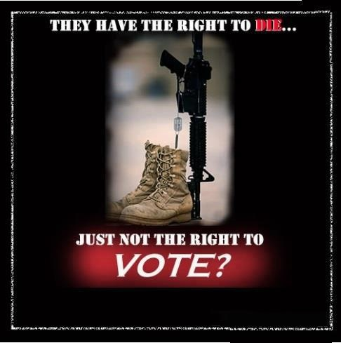 obama is trying to stop the military from having 3 extra days of voting in Ohio because the military is expected to vote Republican.