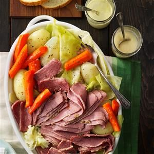 Favorite Corned Beef and Cabbage Recipe from Taste of Home