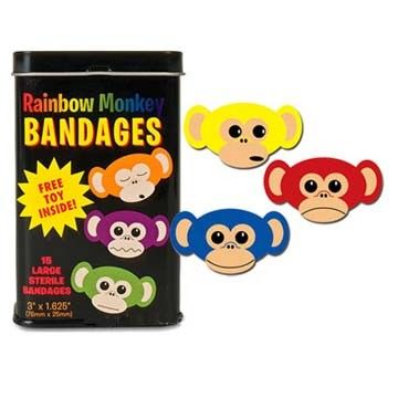 band aides! my child is addicted to band aides