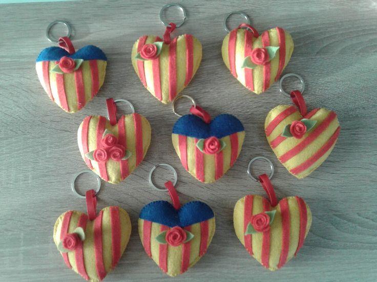Corazones San Jordi.