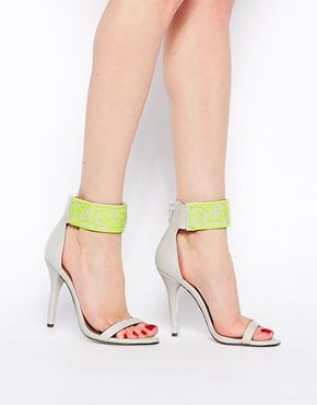 Enlarge ASOS HEXAGON Heeled Sandals