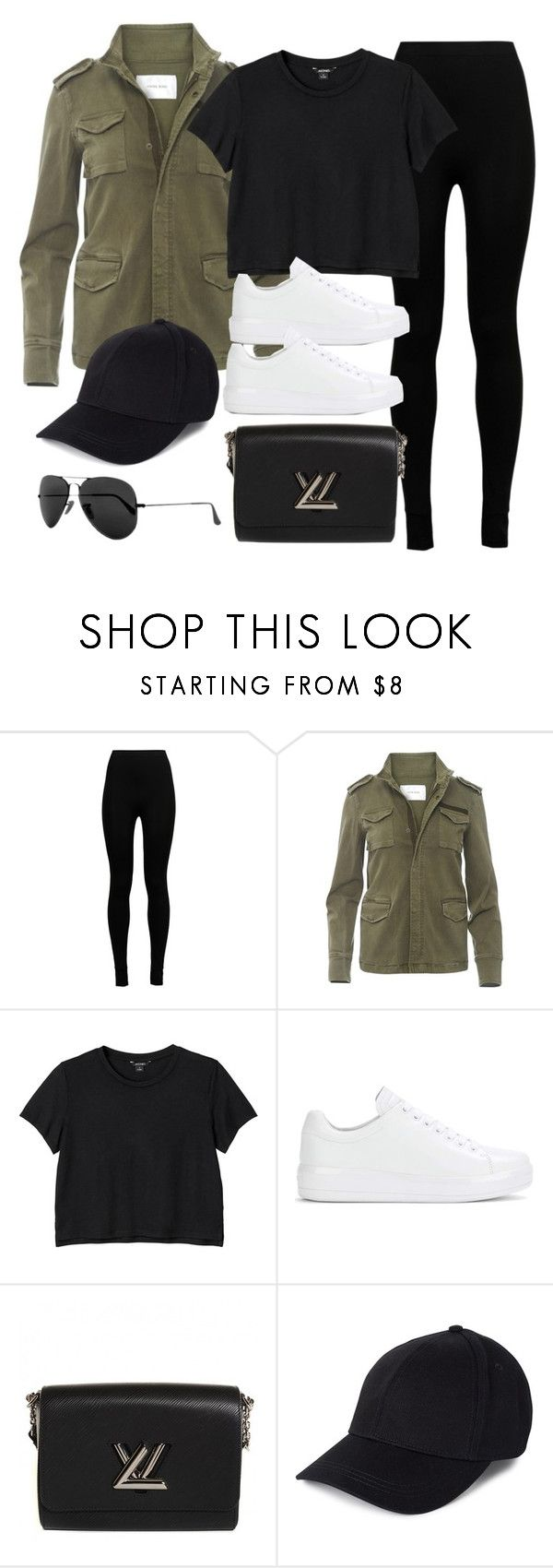 """""""Sin título #12188"""" by vany-alvarado ❤ liked on Polyvore featuring Wolford, Anine Bing, Monki, Prada, Louis Vuitton and Ray-Ban"""