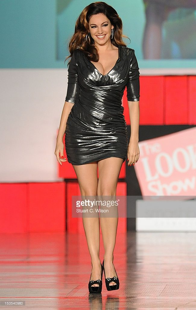 Kelly Brook walks the catwalk at The Look Show in association with Smashbox Cosmetics at Royal Courts of Justice, Strand on October 6, 2012 in London, England.